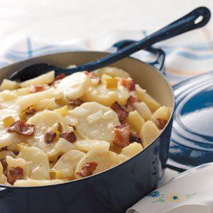Hot Potato Salad for 100 Recipe