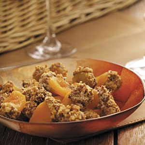 Amaretto Cheese-Filled Apricots Recipe