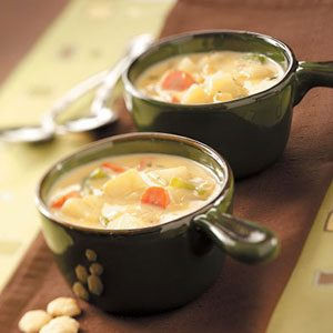 Hearty Cheese and Vegetable Soup Recipe