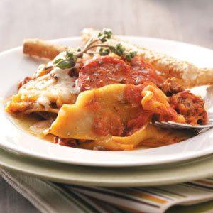 Sausage Pasta Casserole Recipe
