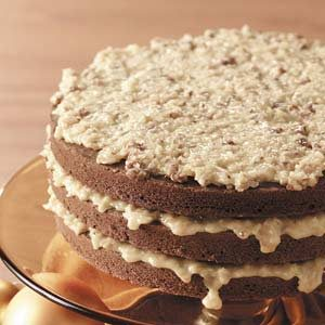 Makeover German Sweet Chocolate Cake