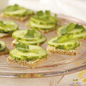 Tea Party Cucumber Sandwiches Recipe