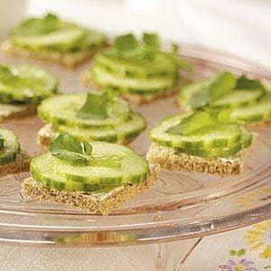 Tea Party Cucumber Sandwiches Recipe