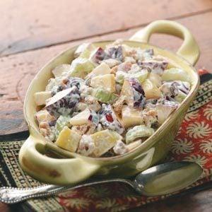 Crunchy Waldorf Salad Recipe   Taste of Home