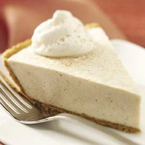 No-Bake Chai Cheese Pie Recipe