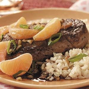 Citrus Steaks Recipe
