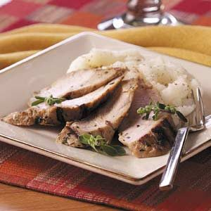 Grilled Herbed Turkey Tenderloins Recipe
