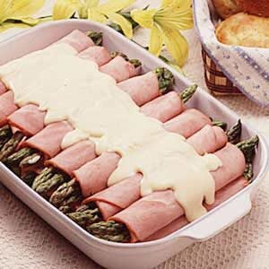 Best-Ever Asparagus/Ham Rolls Recipe