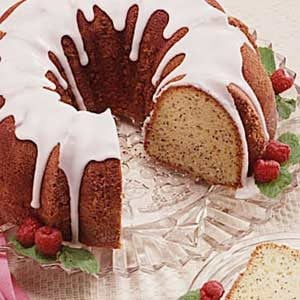 Country Poppy Seed Cake Recipe