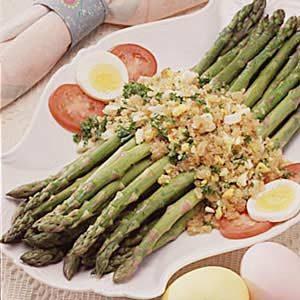 Asparagus Polonaise Recipe