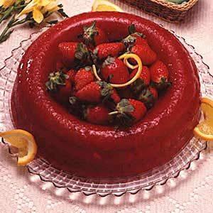 Rosy Rhubarb Salad Recipe