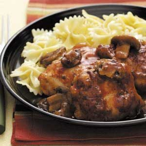 Chicken Merlot with Mushrooms Recipe