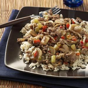 Ground Beef Chow Mein Recipe