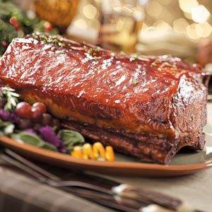 Glazed Pork Roast Recipe
