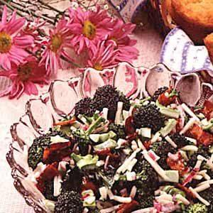 Tossed Broccoli Salad Recipe