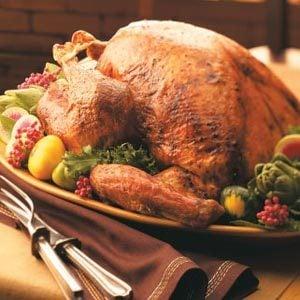 Always-Tender Roasted Turkey Recipe