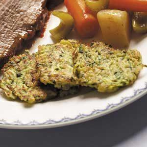 Zucchini Latkes Recipe photo by Taste of Home