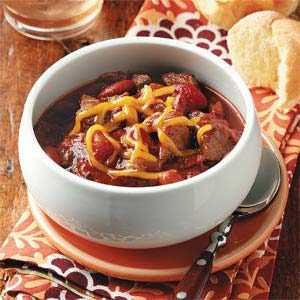 Sally's West Coast Chili Recipe