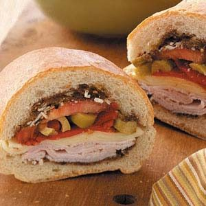 Turkey Muffuletta Recipe