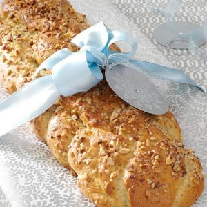 Braided Almond-Herb Bread Recipe