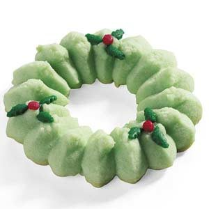 Holiday Spritz Wreaths