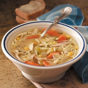 Chunky Turkey Soup