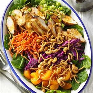 Ginger-Cashew Chicken Salad