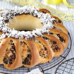 German Chocolate Ring Recipe
