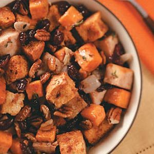 Harvest Turkey Bread Salad Recipe