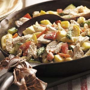 Next Day Turkey Primavera Recipe