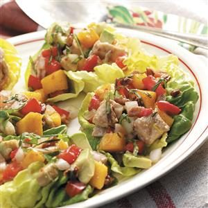Colorful Turkey Salad Cups Recipe