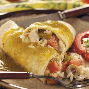 Contest-Winning Turkey Enchiladas Recipe