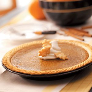 Butternut Squash Pie Recipe