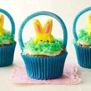 Easter Basket Cupcakes Recipe