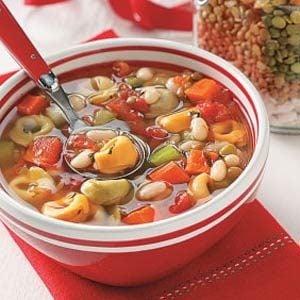 Tortellini Bean Soup Mix Recipe