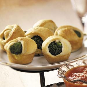 Broccoli Crescent Appetizers Recipe