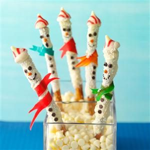 Sweet & Salty Snowmen Recipe