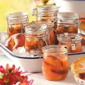 Gingered Peach Chutney Recipe