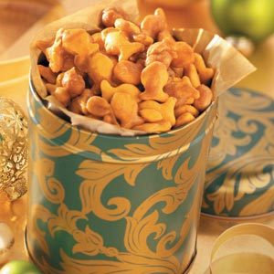 Caramel Crackers 'n' Nuts Recipe