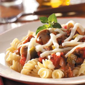 Turkey Sausage with Pasta Recipe