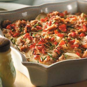 Sausage-Potato Bake Recipe