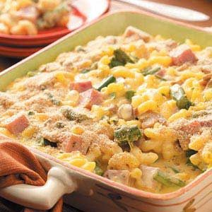 Mac 'n' Cheese with Ham Recipe