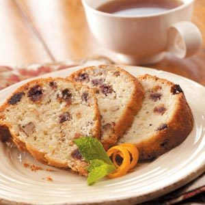Orange-Date Nut Cake Recipe