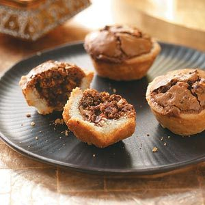Chocolate Hazelnut Tassies Recipe