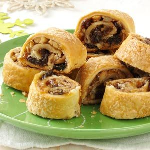 Apricot Raisin Rugelach Recipe