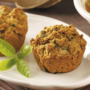 Herbed Wheat Muffins Recipe