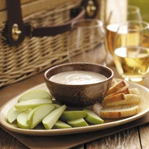 Honey-Balsamic Goat Cheese Dip