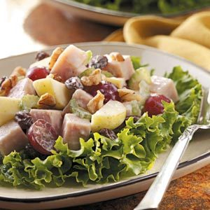 Waldorf Turkey Salad Recipe Taste Of Home