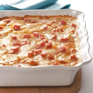 Scalloped Potatoes with Ham & Cheese Recipe