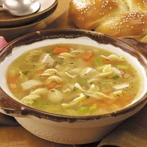 Old Fashioned Chunky Chicken Noodle Soup Recipe
